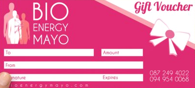 bio energy mayo healing treatments voucher