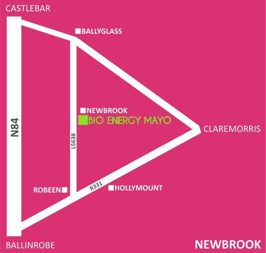 bio energy mayo location map claremorris ireland